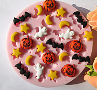 cheap -Mold Star For Pie For Cookie For Cake Silicone Eco-friendly High Quality Halloween