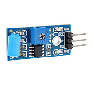 cheap -100% New Normally Closed Type Alarm Vibration Sensor Module Induction Module Vibration Switch Sw-420