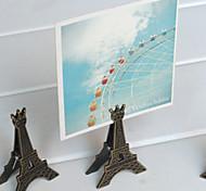 Недорогие -Ретро башня металлический наконечник дизайн зажим (случайный цвет)