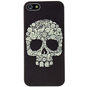 For iPhone 7 7 Plus 6s 6 Plus SE 5s 5 Case Pattern Case Back Cover Case Skull Hard PC