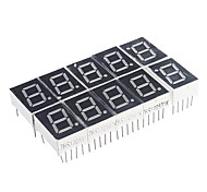cheap -10-Pin 7-Segment Red LED Display Common Cathode (10 PCS)