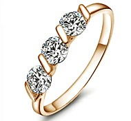 cheap -Women's Gold Plated Statement Ring - Fashion Gold Ring For Wedding Party Casual