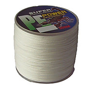 cheap -500M / 550 Yards PE Braided Line / Dyneema / Superline Fishing Line White 50LB / 45LB / 60LB 0.3;0.32;0.37 mm ForSea Fishing / Freshwater