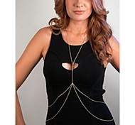 cheap -Belly Chain / Body Chain Unique Design, European, Simple Style Women's Gold / Silver Body Jewelry For Daily / Casual