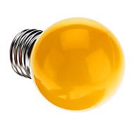 cheap -0.5W 50 lm E26/E27 LED Globe Bulbs G45 7 leds Dip LED Decorative Yellow AC 220-240V