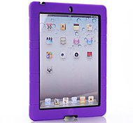 cheap -Dual Protection Case with Stand for Ipad2/3/4 (Various Colors)