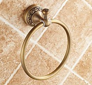 Towel Ring / Antique Brass Brass /Traditional