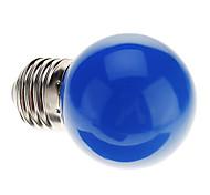 cheap -0.5W 50 lm E26/E27 LED Globe Bulbs G45 7 leds Dip LED Decorative Blue AC 220-240V