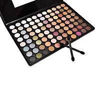 88 Paleta de Sombras de Ojos Húmedo / Mate / Mineral Paleta de sombra de ojos Polvo Grande Maquillaje de Diario / Maquillaje Smokey