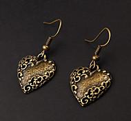 cheap -Heart Drop Earrings - Heart Earrings For Party Daily