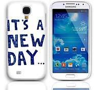 Дело Новый день Дизайн Жесткий с 3 пакетами Защитные пленки для Samsung Galaxy S4 мини I9190