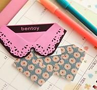 Collar Tie Shape Plastic Bookmarks