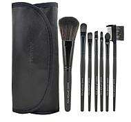 Make-up For You® 7pcs Makeup Brushes set Limits bacteria Black Eyeshadow/Blush/Lip Brush Eye Brow Brush Makeup Kit Cosmetic Brushes Tool set