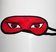 baratos -Máscara Inspirado por Naruto Hatake Kakashi Anime Acessórios de Cosplay Máscara Vermelho Malha polar Masculino