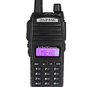 baratos -BAOFENG UV-82 Rádio de Comunicação Portátil Analógico 5 - 10 km 5 - 10 km 128CH 1800mAh Walkie Talkie Dois canais de rádio