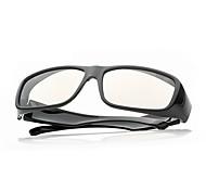 m&k luz polarizada modelado miopía retardador gafas 3d para la TV