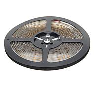 Водонепроницаемый 5M 24W 60x3528SMD 900-1200LM 3000-3500K теплый белый свет Светодиодные полосы света (12В)