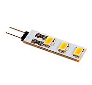 preiswerte -80-100lm G4 LED Doppel-Pin Leuchten 6 LED-Perlen SMD 5050 Warmes Weiß Kühles Weiß 12V