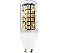 Недорогие -gu10 7w 69x5050smd 750lm 2800-3200K теплый белый свет привел кукуруза лампа (Переменный ток 220-240)