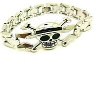 Jewelry Inspired by One Piece Naruto Uzumaki Anime Cosplay Accessories Bracelet Golden Alloy Male