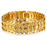 cheap -Women's Cuff Bracelet Bracelet Stylish Gold Plated Jewelry Wedding Party Event/Party Dailywear Daily Casual Costume Jewelry