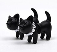 cheap -Women's Cat Pearl Stud Earrings - Basic Bridal Black Leopard Animal Earrings For Wedding Party Daily
