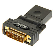 cheap -HDMI Female to DVI24+5 Male Adapter