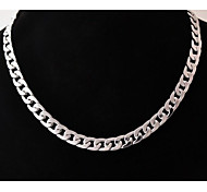 cheap -Men's Stainless Steel Chain Necklace - Unique Design Fashion Others Necklace For Wedding Party Gift Daily Casual