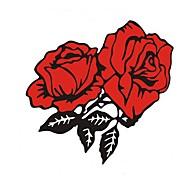 розы бампер наклейки автомобиля
