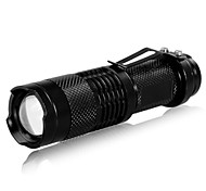 LED Flashlights / Torch LED 240 lm 3 Mode Cree XR-E Q5 Zoomable Adjustable Focus Rechargeable Tactical Super Light Compact Size Small Size