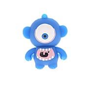 cheap -ZP Big Eye Cartoon Character USB Flash Drive 8GB