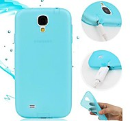 TPU Soft Case with Dust Plug for Samsung Galaxy S4 I9500 Galaxy S Series Cases / Covers