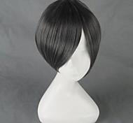 Косплэй парики Искривленные в Волшебной средней школы Косплей Черный Короткие платья Аниме Косплэй парики 35 CM Термостойкое волокно