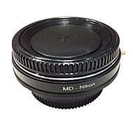 newyi мкр-Nikon оптического стекла Minolta MD объектива для Nikon D7100 адаптер для d7000 d5200 d3300 D5300 D3200 D80 d90