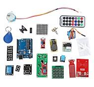 Недорогие -RFID комплект системы обучения ж / ООН r3 шагового двигателя RFID модуль RFID IC карты RFID IC брелок основе для Arduino