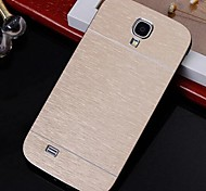 abordables -2 in 1 Metal Brushed Hard Case for Samsung Galaxy S4 I9500 (Assorted Colors)