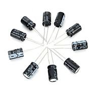 поделки 35v / 470uf алюминиевых электролитических конденсаторов - черный (10шт)