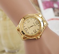 cheap -Women's Quartz Wrist Watch Cool / Casual Watch Alloy Band Elegant / Fashion Silver / Gold