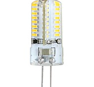 cheap -YWXLight® 3W G4 LED Corn Lights LED Bi-pin Lights 64 leds SMD 3014 Warm White 300lm 3000-3500K AC 100-240V