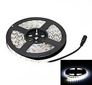 водонепроницаемый 72W 3000lm 6000k 300-SMD 5050 LED белый свет полоса (5 м / DC 12V)