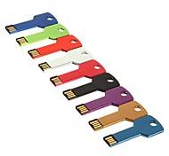 8gb unidade flash USB Key estilo (cores sortidas)