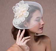 женский органза головной убор-свадебные фашинирующие цветы шляпы элегантный стиль