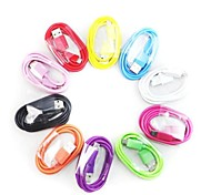 Colorful USB Sync and Charge Cable for Samsung Galaxy S3 S4 and Others(Assorted Colors)