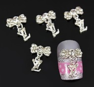 10pcs Jewelry Pendant Accessories Alloy DIY Stick Nail Art Decoration