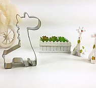 Giraffe Cookie Cutter Metal Animal Biscuit Bread Mold Stainless Steel DIY Baking Tools