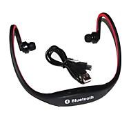 Беспроводная связь Bluetooth Наушники с микрофоном Спортивный Велосипедный спорт Бег Прогулки Фитнес