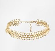 Европейские и американские торговля мода простой ожерелье женщин