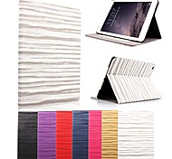 KARZEA® Wave Pattern Auto Sleep and Wake-Up PU Leather Case with Stand and Stylus for iPad mini 1/2/3 (Assorted Colors)