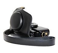 cheap -Pajiatu® Retro PU Leather Oil Skin Camera Protective Case Bag for Canon Powershot G7/X/G7X