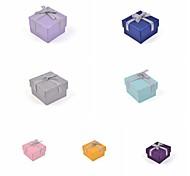 Недорогие -ленты лук бумаги кольцо коробка
